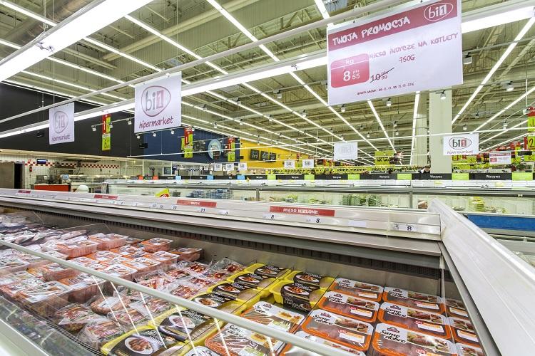 Гипермаркет Bi1 в Белостоке