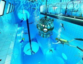 В 50 км от Варшавы построят самый глубокий бассейн в мире